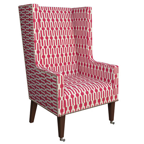 Links Fuchsia Neo-Wing Chair