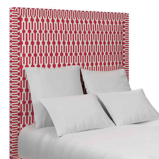 Links Fuchsia Stonington Headboard