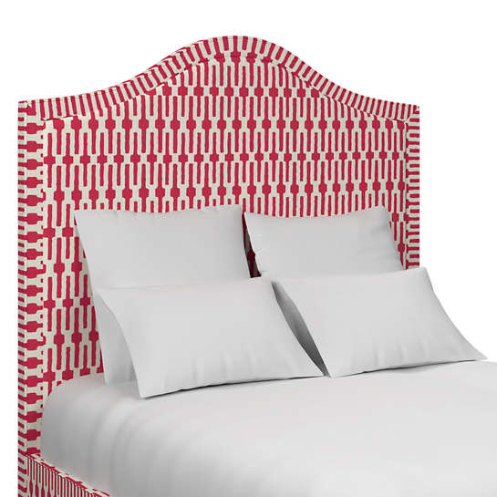Links Fuchsia Westport Headboard