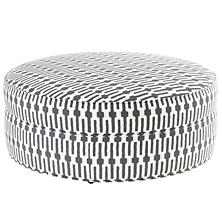Links Graphite Cloud Ottoman