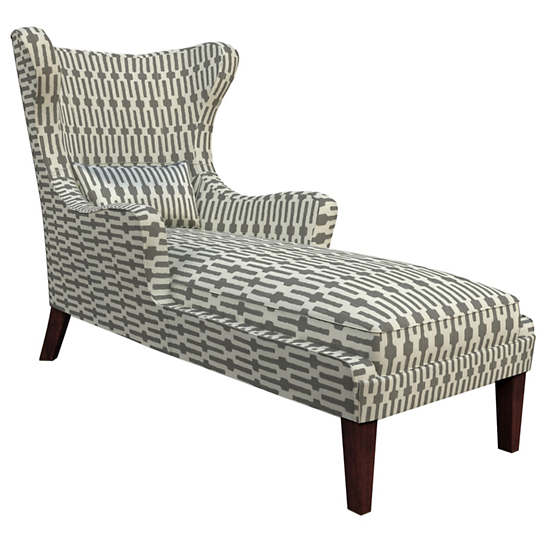 Links Graphite Mirage Tobacco Chaise