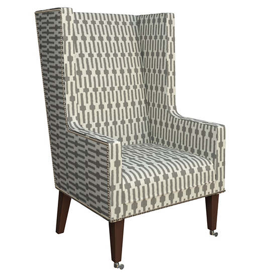 Links Graphite Neo-Wing Chair