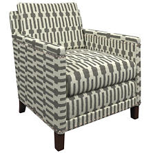 Links Graphite Ridgefield Chair