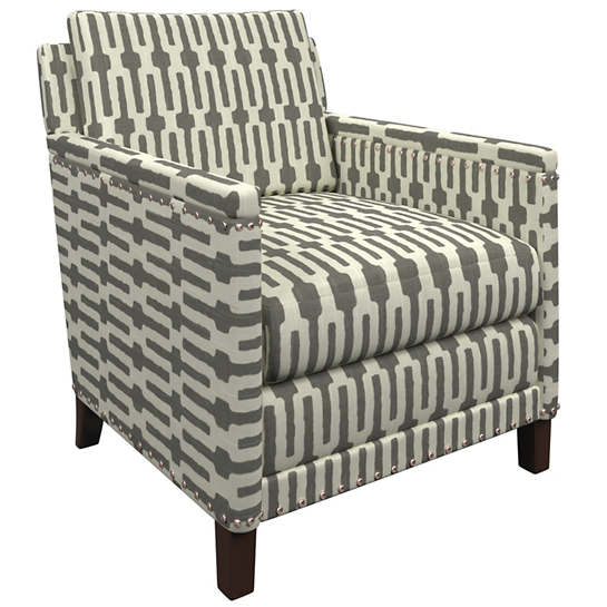 Links Graphite Ridgefield Chair