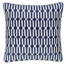 Links Navy Indoor/Outdoor Decorative Pillow