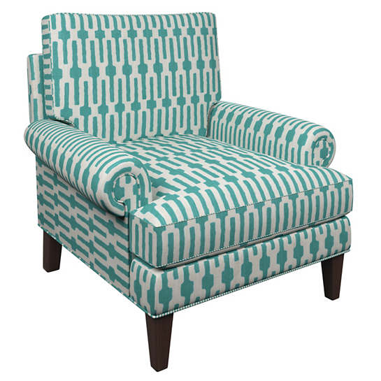 Links Turquoise Easton Chair
