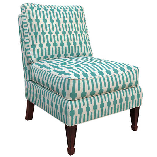 Links Turquoise Eldorado Chair
