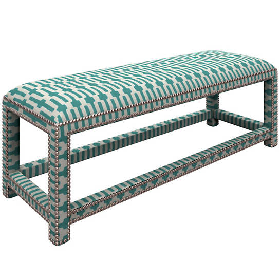 Links Turquoise Lexington Bench