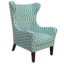 Links Turquoise Mirage Tobacco Chair