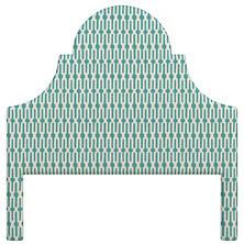 Links Turquoise Montaigne Headboard