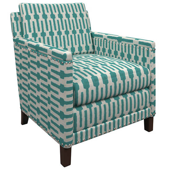 Links Turquoise Ridgefield Chair