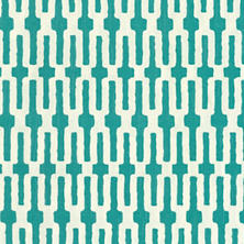 Links Turquoise Fabric