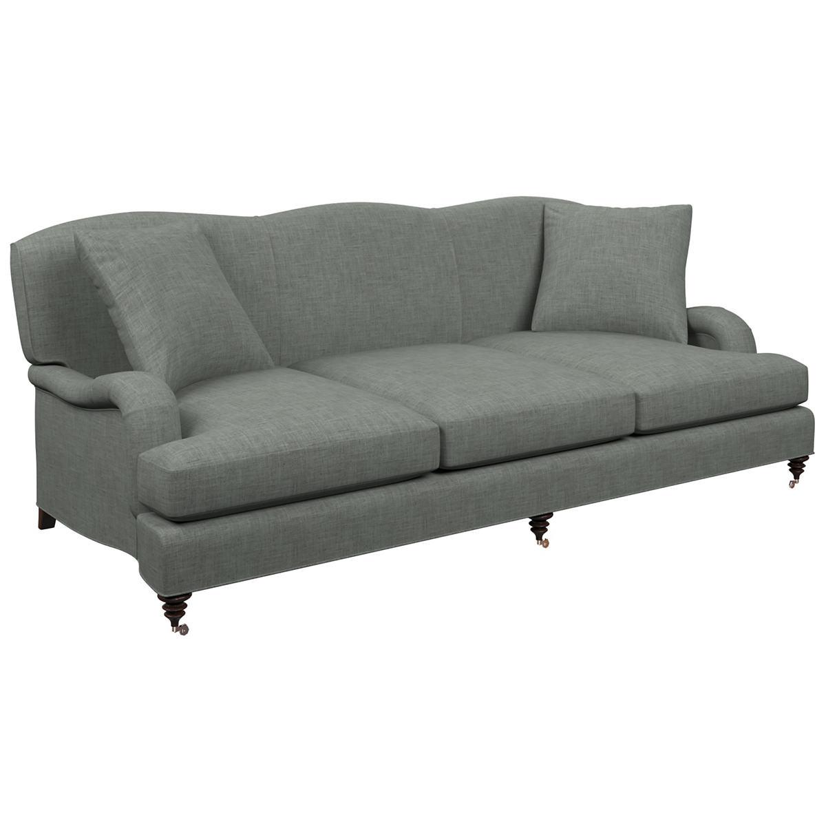 Canvasuede Ocean Litchfield 3 Seater Sofa