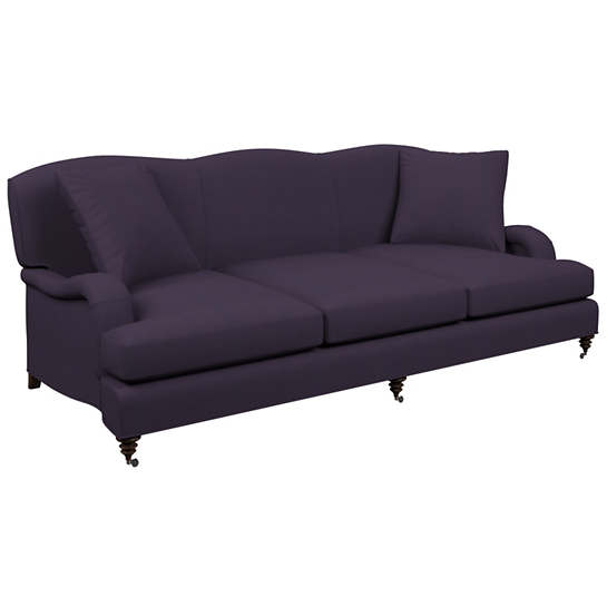Estate Linen Indigo Litchfield 3 Seater Sofa