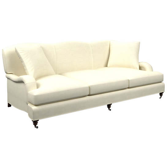Estate Linen Ivory Litchfield 3 Seater Sofa