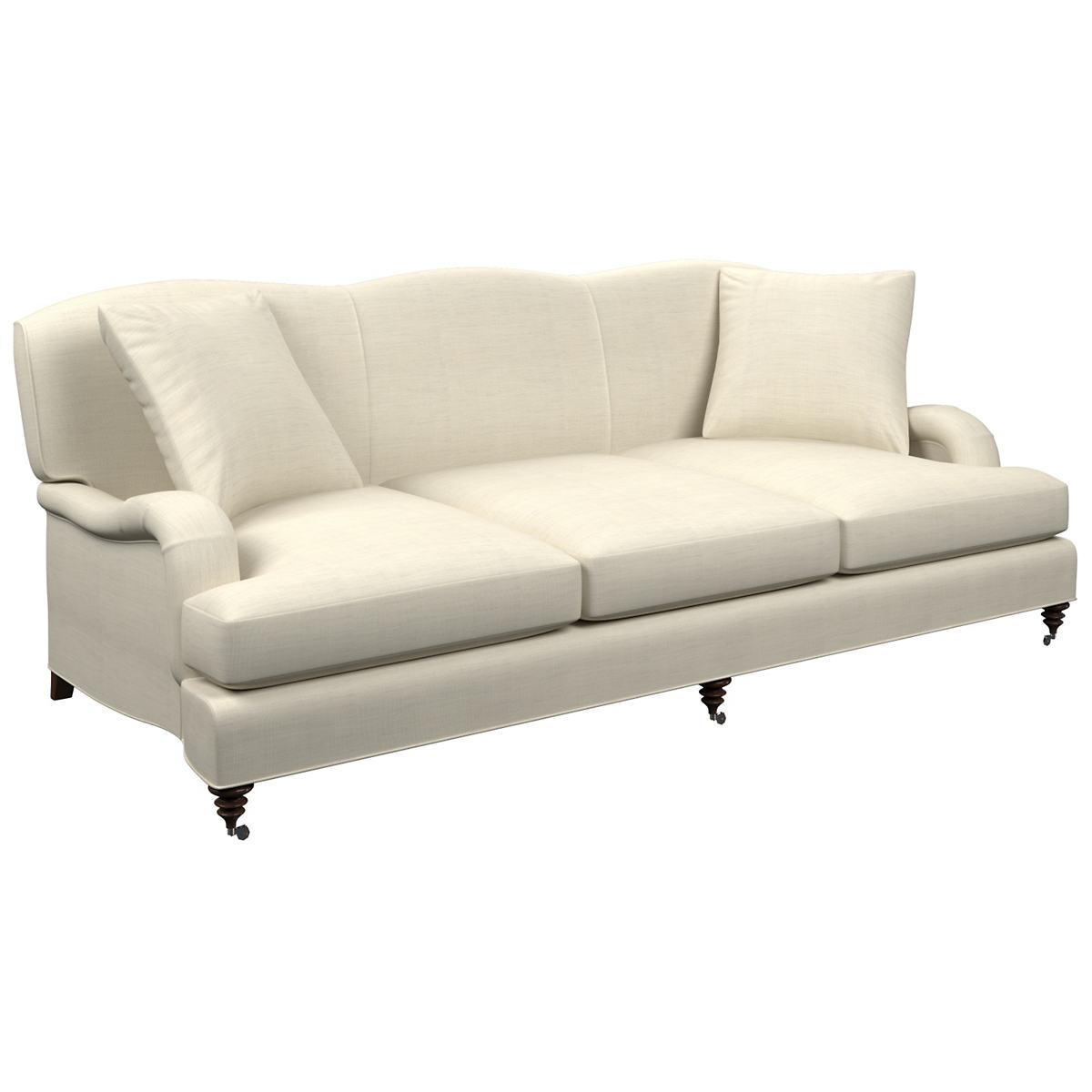 Superb Estate Linen Pearl Grey Litchfield 3 Seater Sofa Cjindustries Chair Design For Home Cjindustriesco