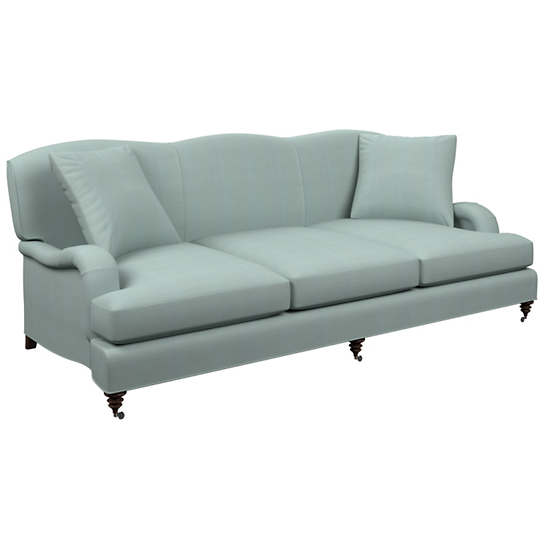 Estate Linen Sky Litchfield 3 Seater Sofa