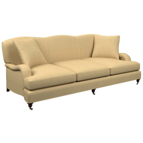 Estate Linen Wheat Litchfield 3 Seater Sofa