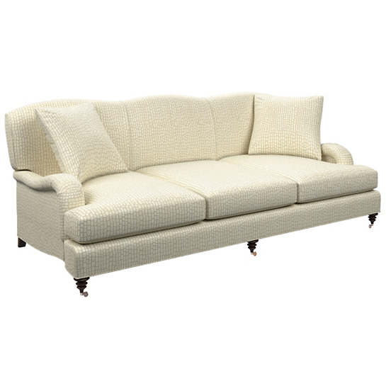 Pebble Ivory Litchfield 3 Seater Sofa