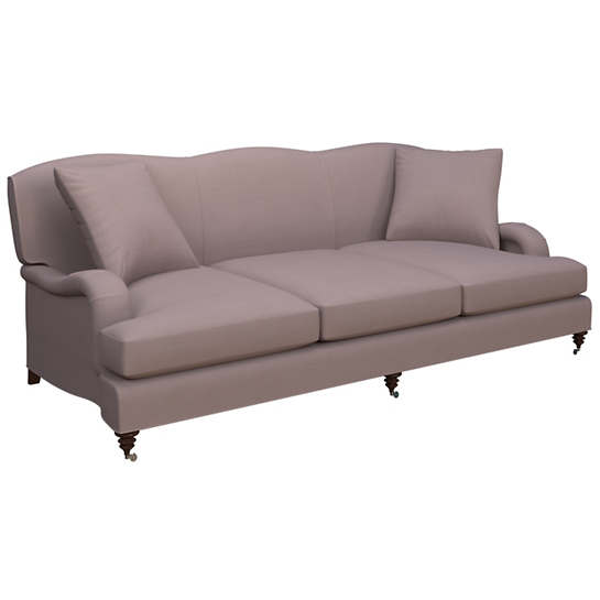 Weathered Linen Heather Litchfield 3 Seater Sofa