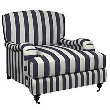 Alex Indigo Litchfield Chair