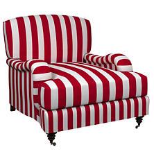 Alex Red Litchfield Chair
