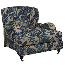 Antigua Linen Litchfield Chair