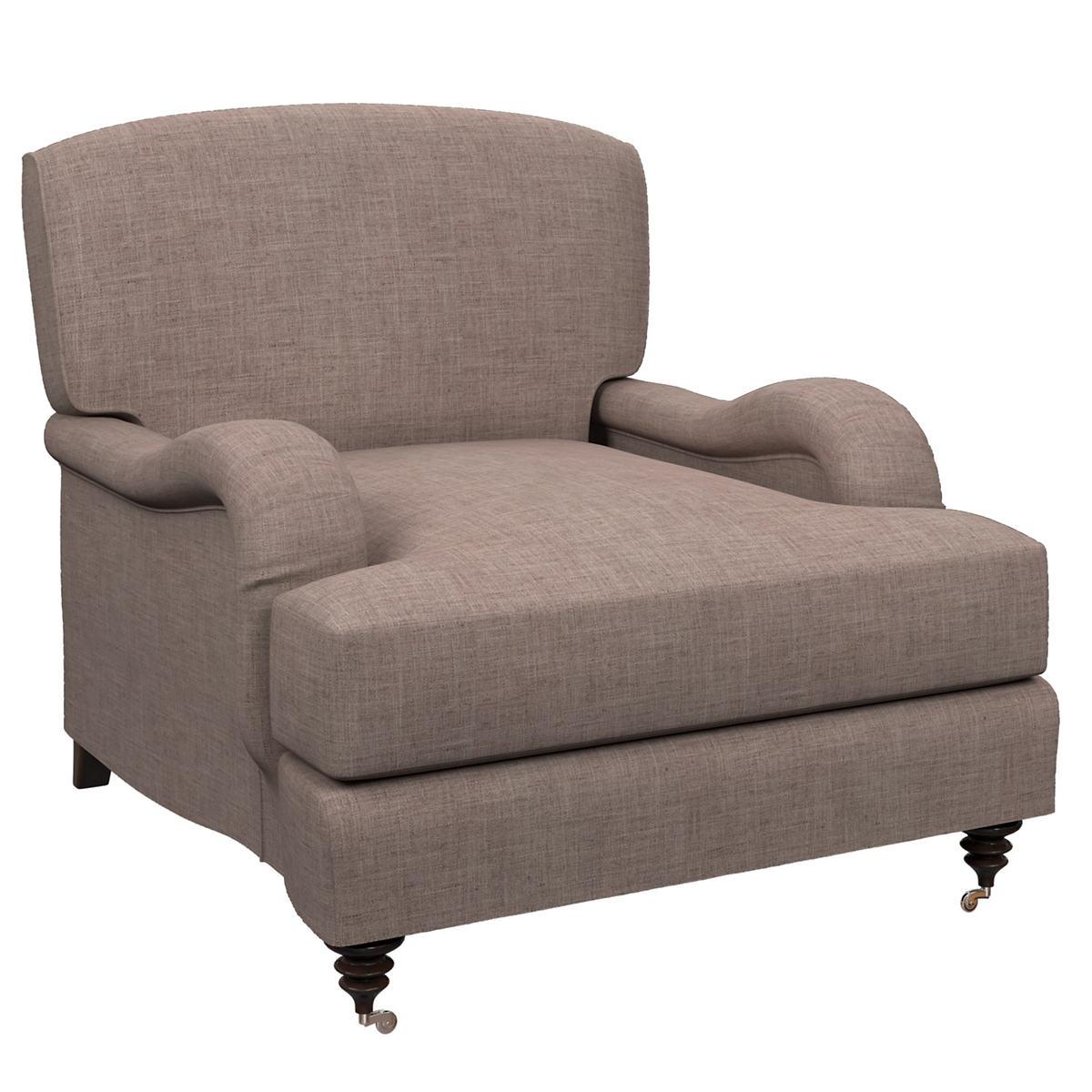 Canvasuede Heather Litchfield Chair