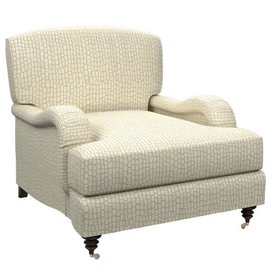 Pebble Ivory Litchfield Chair
