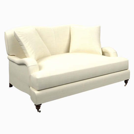 Estate Linen Ivory Litchfield Loveseat