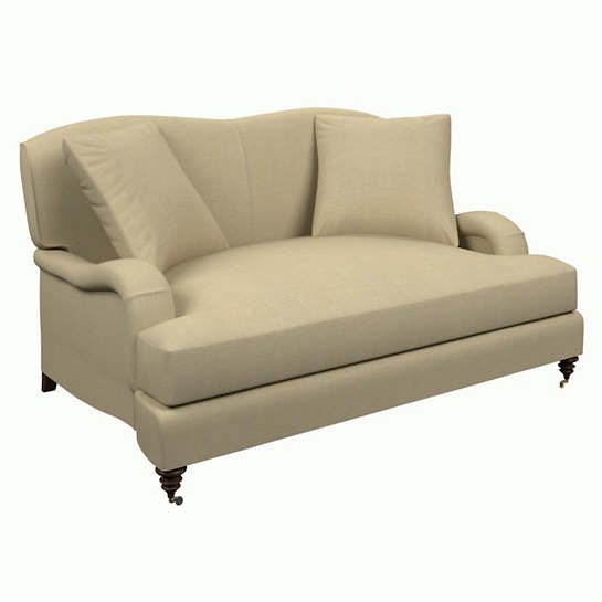 Estate Linen Natural Litchfield Loveseat