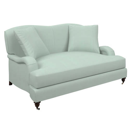 Estate Linen Powder Blue Litchfield Loveseat