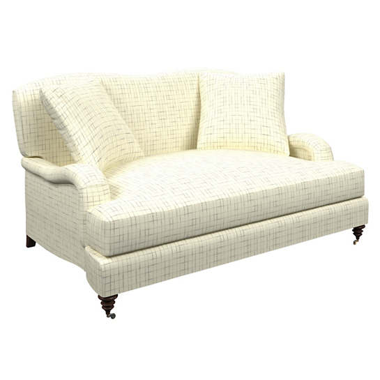 Nicholson Grey Litchfield Loveseat