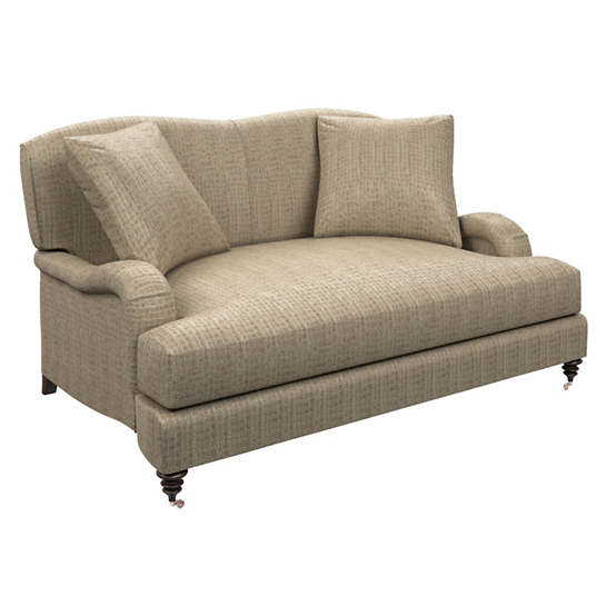 Pebble Sand Litchfield Loveseat