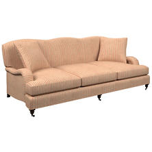 Adams Ticking Brick Litchfield 3 Seater Sofa
