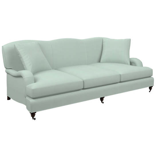 Estate Linen Powder Blue Litchfield 3 Seater Sofa