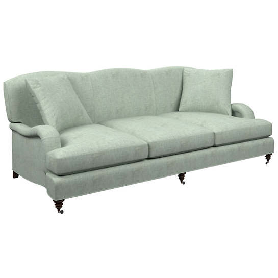 Greylock Light Blue Litchfield 3 Seater Sofa