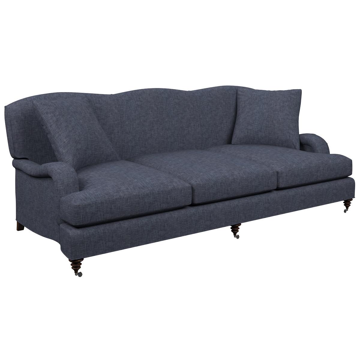 Greylock Navy Litchfield 3 Seater Sofa