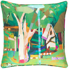 Little House Indoor/Outdoor Decorative Pillow