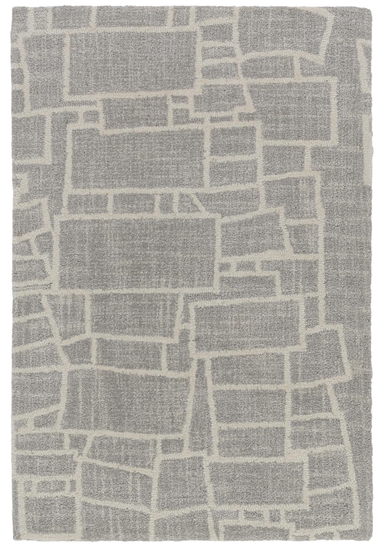 Lloyd Grey Micro Hooked Wool Rug