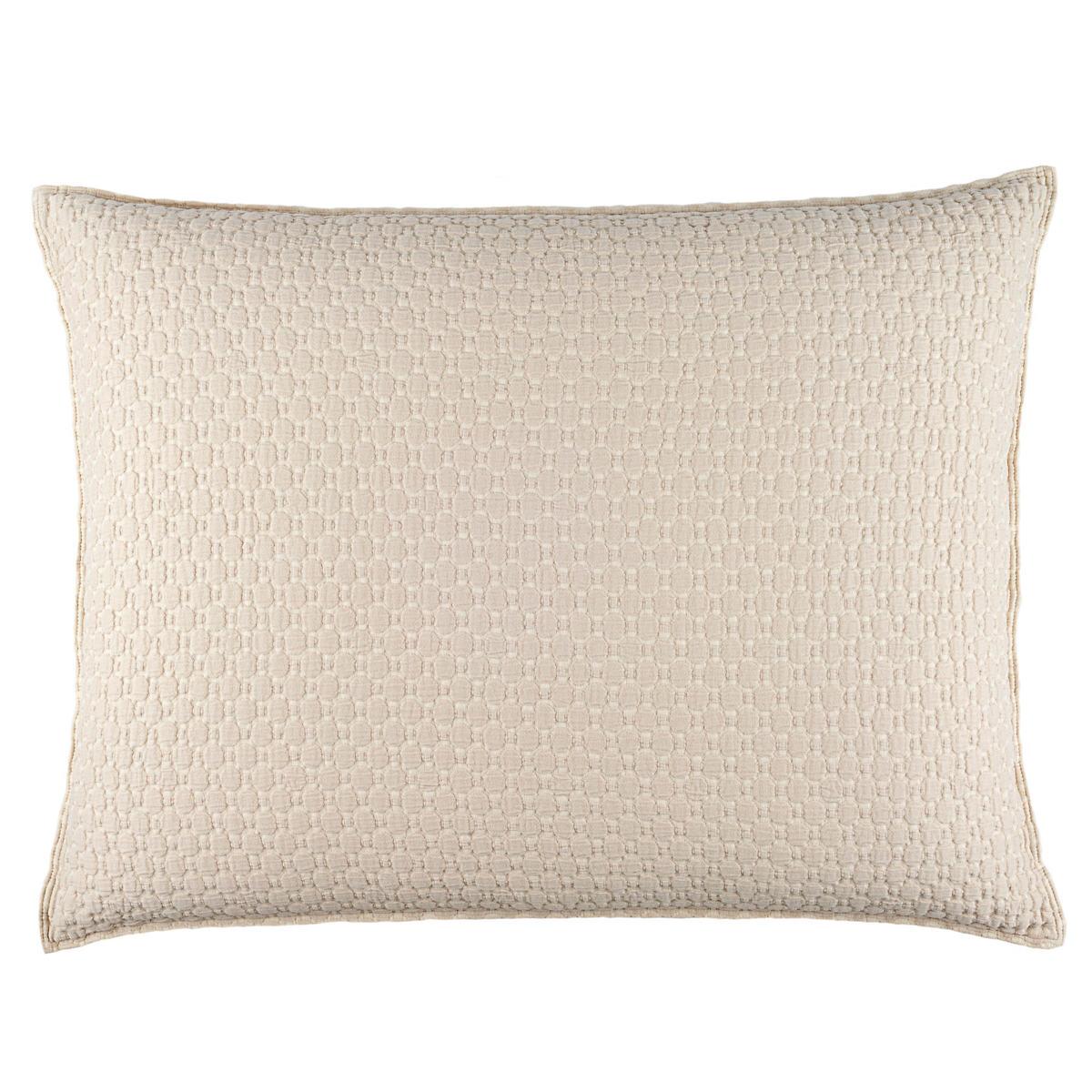 Lodi Alabaster Matelassé Decorative Pillow