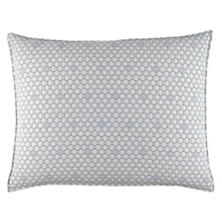 Lodi Blue Matelassé Decorative Pillow