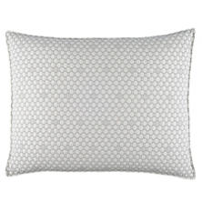 Lodi Silver Matelassé Decorative Pillow
