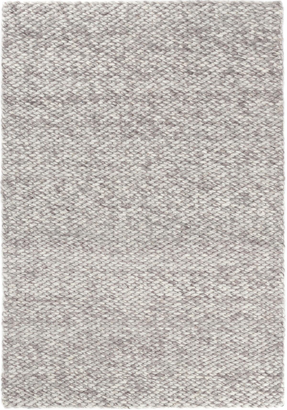 Loggia Grey Woven Wool Rug