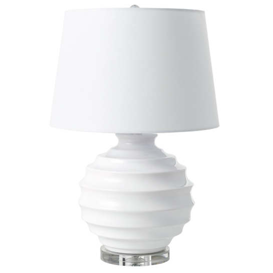 Lucy White Table Lamp