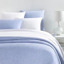 Lush Linen French Blue Duvet Cover