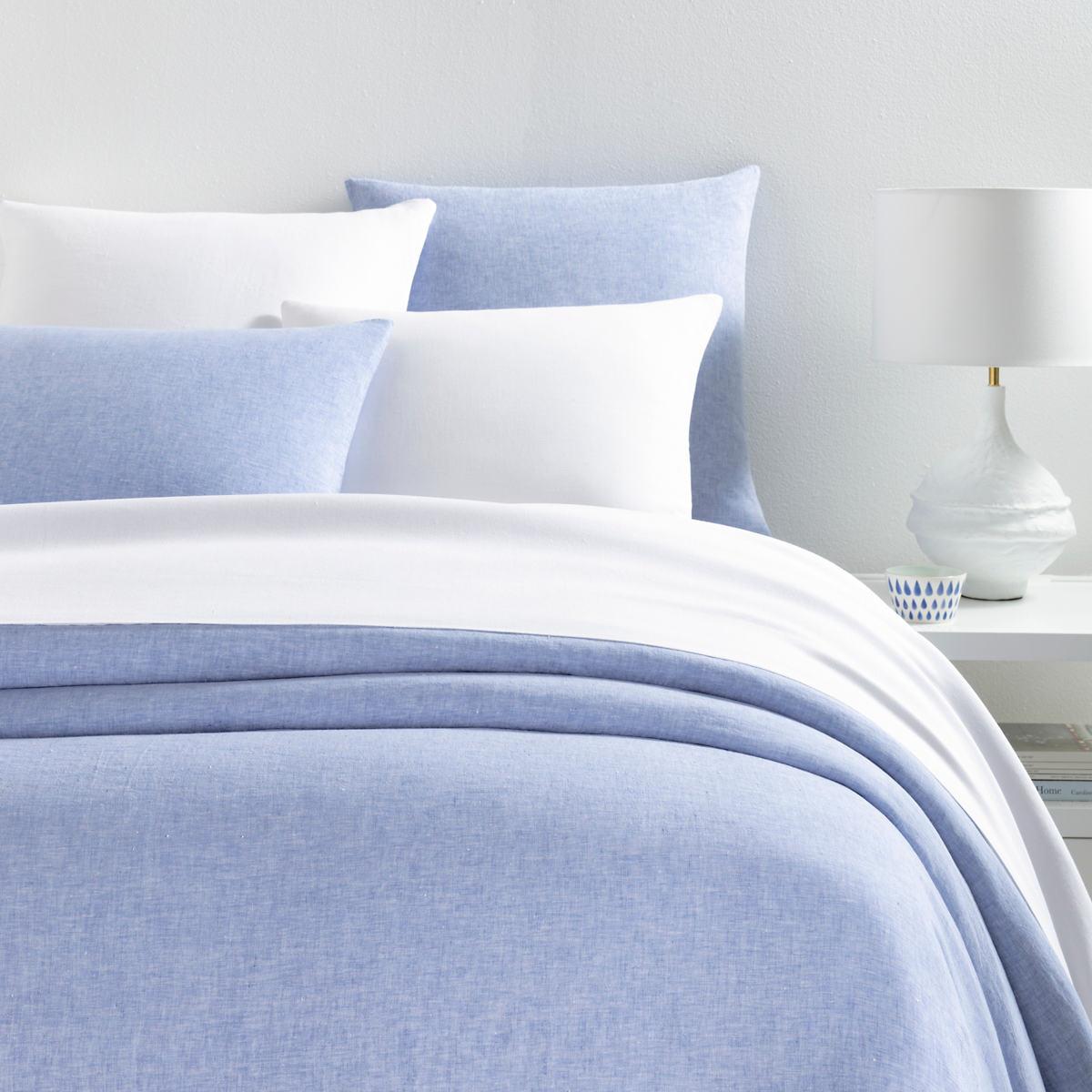 Lush Linen French Blue Duvet Cover