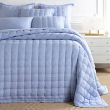 Lush Linen French Blue Puff