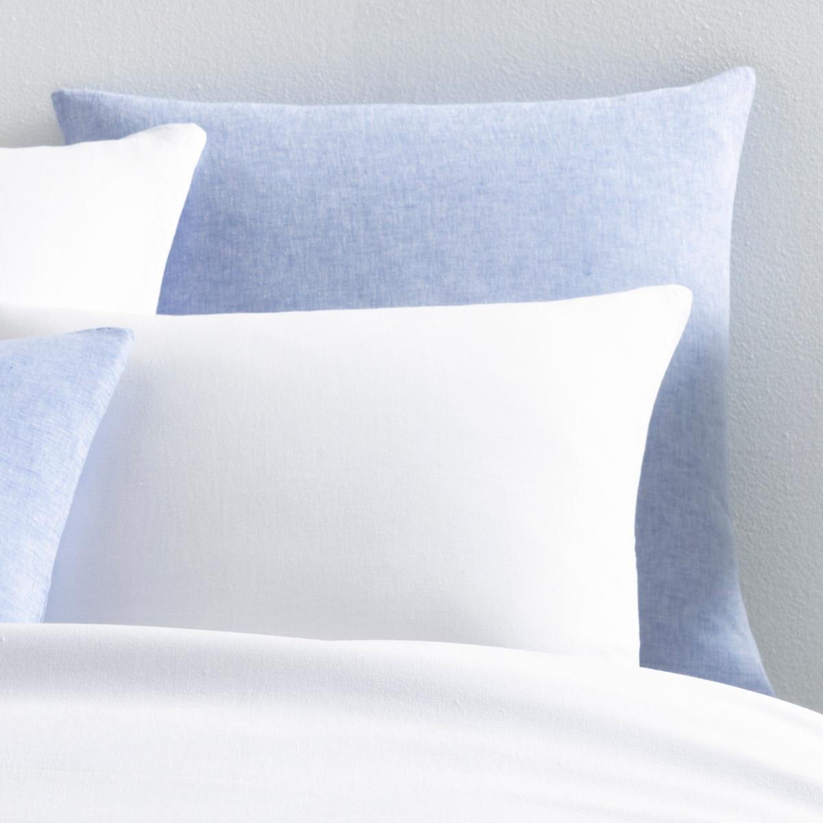 Lush Linen French Blue Sham