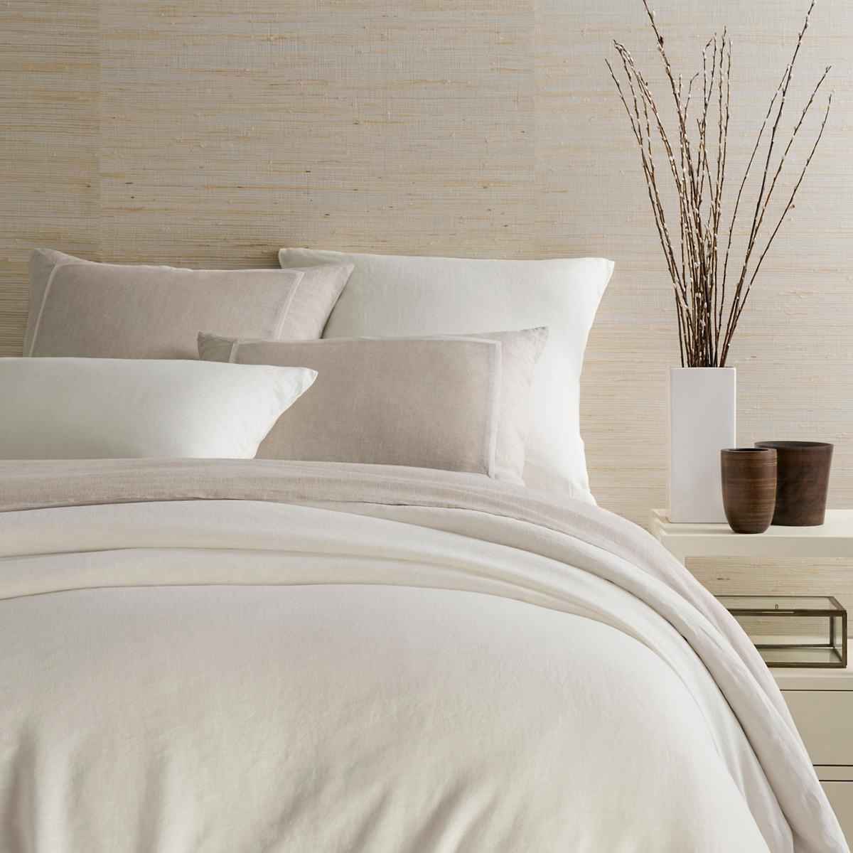 Lush Linen Ivory Duvet Cover